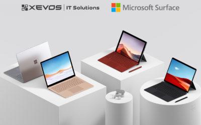 XEVOS přináší do českého komerčního sektoru Surface